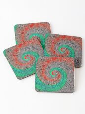 Abstract Golden spiral Coasters