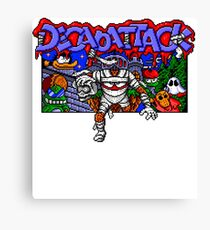 Decapattack (Genesis) Title Screen Canvas Print