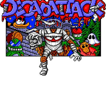 Decapattack (Genesis) Title Screen by AvalancheShirts