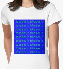 Blaze it Women's Fitted T-Shirt