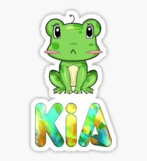 Kia Frog Sticker