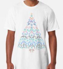 Marine Christmas Tree Long T-Shirt