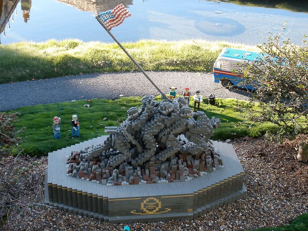 Iwo Jima: The Lego Brick by genevaspecials