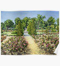 Tulsa Rose Garden Poster