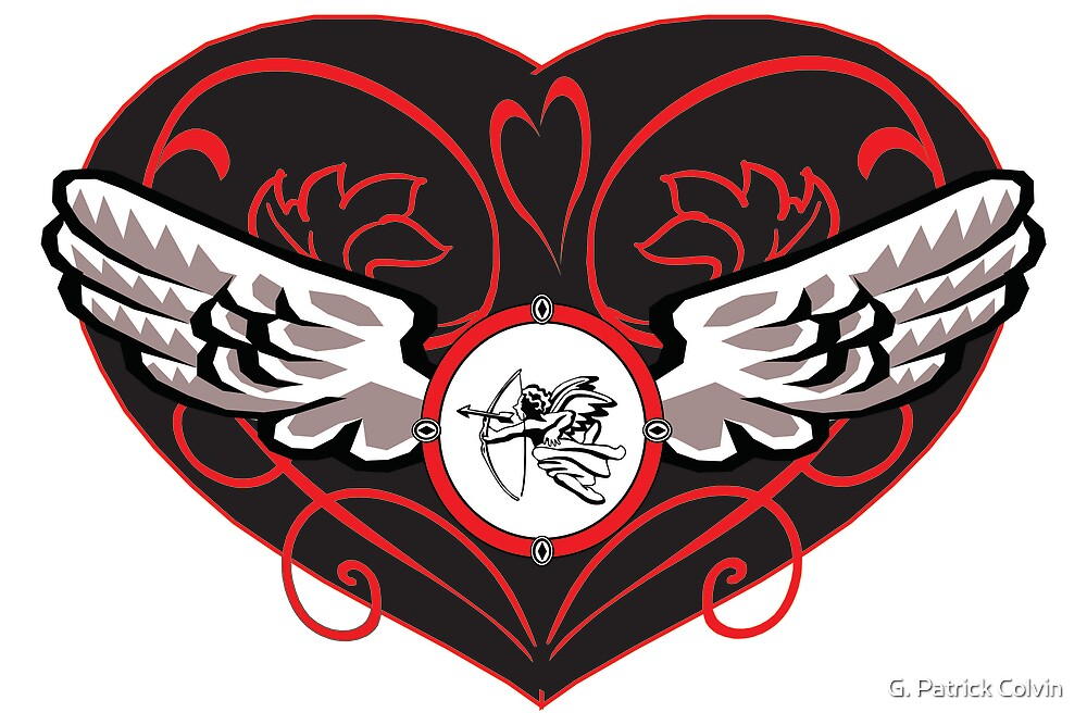 Cupid's Heart  by Gregory Colvin