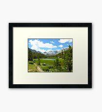 Little Lakes Valley Framed Print