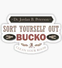 Vintage Jordan Peterson Sort/Clean Sticker