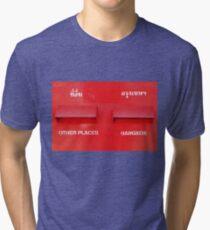 Bangkok Red Tri-blend T-Shirt