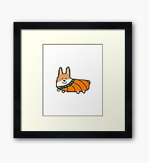 Cute Corgi Halloween T-Shirt, Coffee Mug, iPhone Case Gift Framed Print