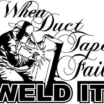 When Duck Tape Fails , Weld It! by flipper42