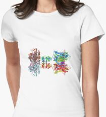 Molecular Structure of Ion Channels, #Molecular, #Structure, #Ion, #Channels, #MolecularStructure, #IonChannels, #IonChannelMolecularStructure, #IonChannel Women's Fitted T-Shirt