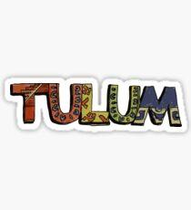 Tulum, Mexico Logo Sticker