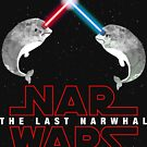 Nar Wars Narwhal Saber Light Star Wars Fans Parody by DesIndie