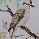 Kookaburra Sits in the Old Gum Tree by Wendy Sinclair