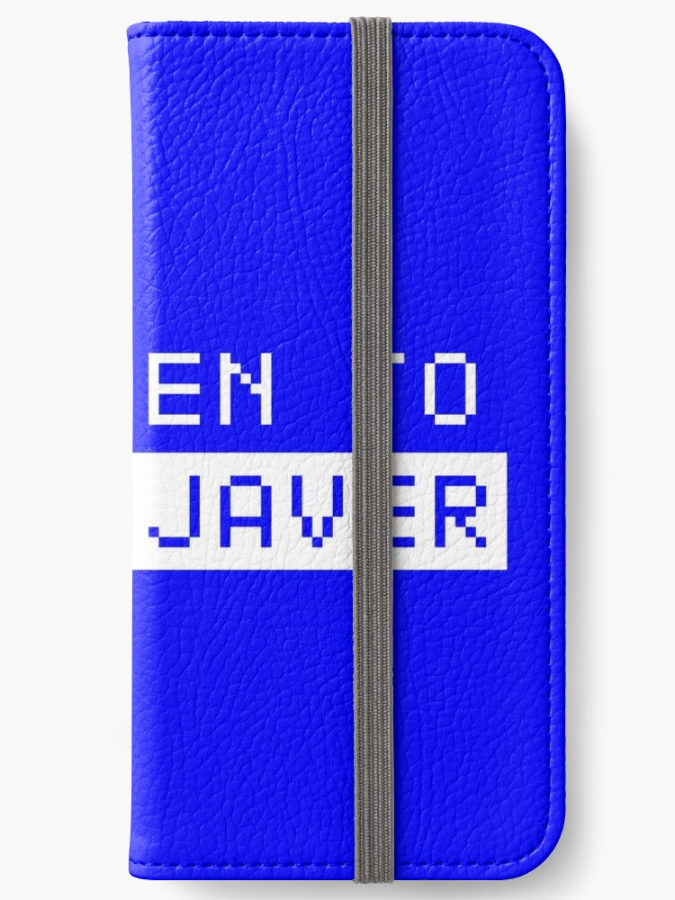 'Oovoo Javer' iPhone Wallet by goldnshots