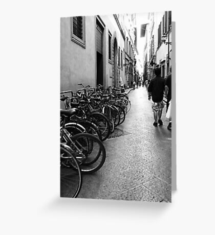 Classic Alleyway Greeting Card
