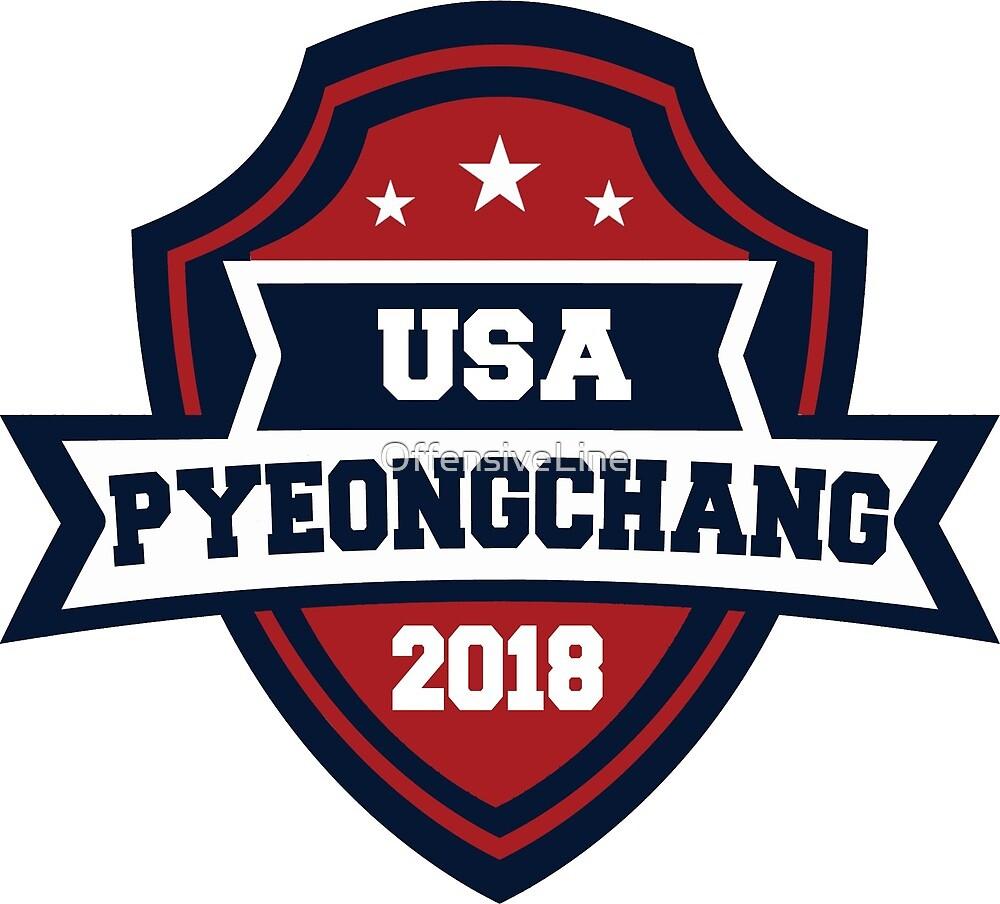 USA Pyeongchang 2018 by OffensiveLine