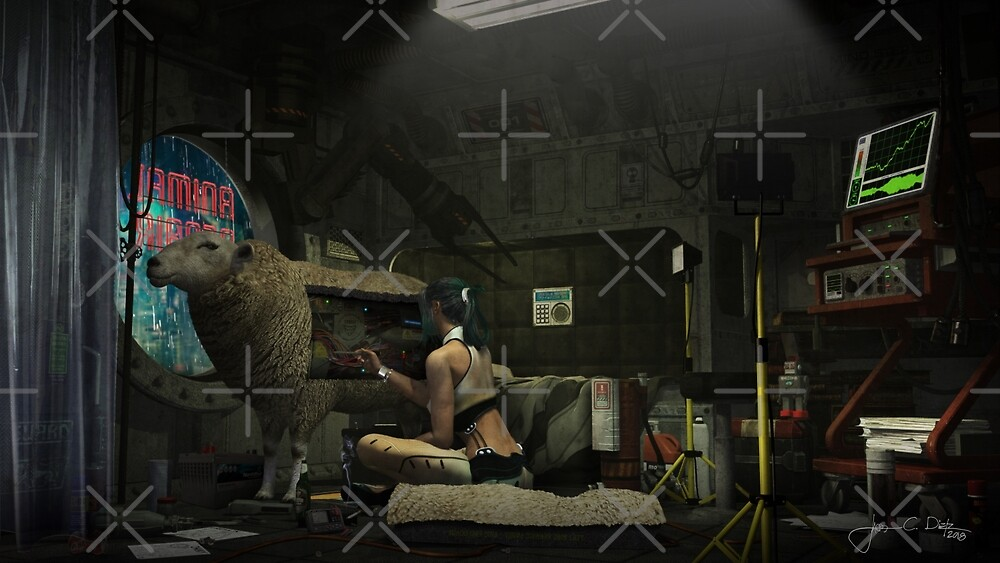 Electric Sheep (Animal Repair) by Jacob Charles Dietz
