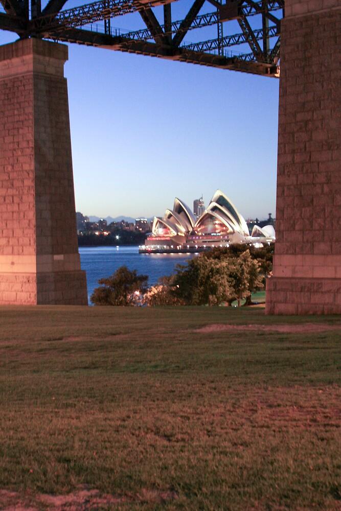 Opera through bridge by JohnW