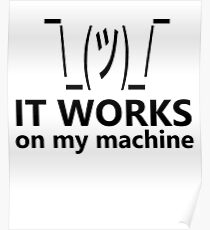Funny Programmers Programming Computer Geek Nerd T-Shirt Poster