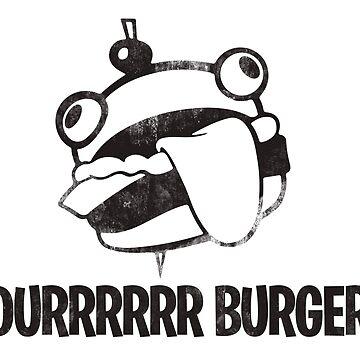 quot Durrrrrrrrrr Burger quot Triblend