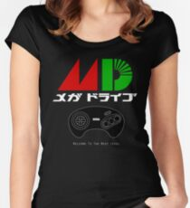 Mega Drive Women's Fitted Scoop T-Shirt
