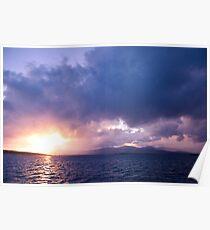 Ardgroom Harbour - Sailing Poster