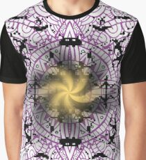 Ornameter, People, Spiral, Pattern, Hunting, Dancing Graphic T-Shirt