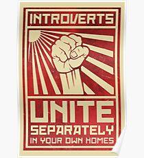 Introvertierte Vereinigung Poster