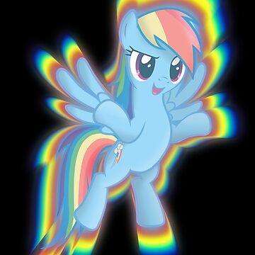 Rainbow Dash by DarkSatanicorn