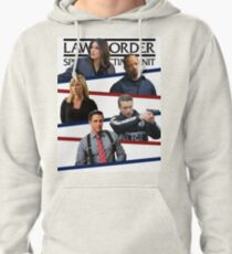 SVU Stripes Poster Pullover Hoodie