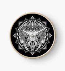 Elephant Medallion Clock