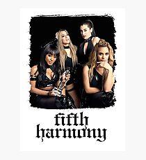 Fifth Harmony - 4th Card Photographic Print