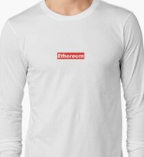 Ethereum Supreme Tshirt Long Sleeve T-Shirt