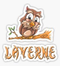 Laverne Owl Sticker