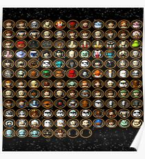 Lego Star Wars II: The Original Trilogy Characters Poster