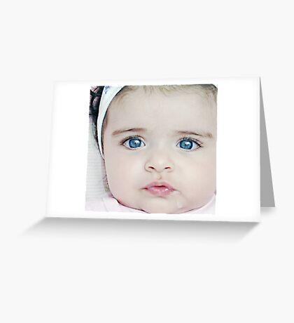 milk face Greeting Card