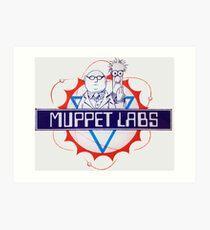 Muppet Labs Art Print