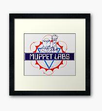Muppet Labs Framed Print