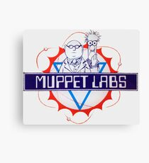 Muppet Labs Canvas Print