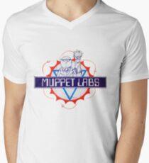 Muppet Labs T-Shirt mit V-Ausschnitt für Männer