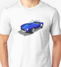 Blue Shelby Cobra Unisex T-Shirt