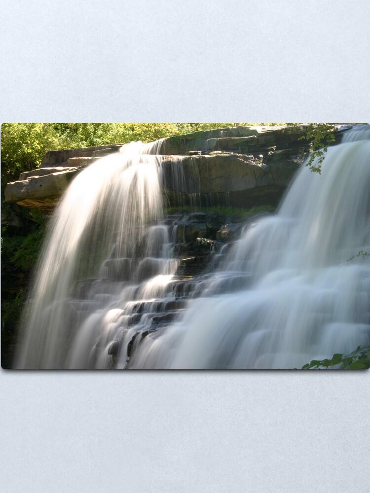 Alternate view of Brandywine Falls Metal Print