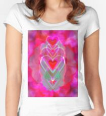 The Hearts Mantra Women's Fitted Scoop T-Shirt