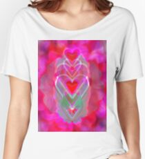 The Hearts Mantra Women's Relaxed Fit T-Shirt