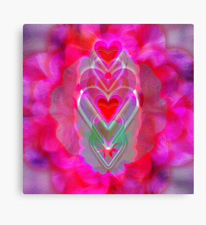 The Hearts Mantra Canvas Print