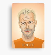 Bruce Willis, Hollywood star in The Fifth Element  Canvas Print