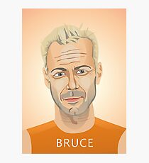 Bruce Willis, Hollywood star in The Fifth Element  Photographic Print
