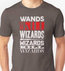 RETRO GL359 Wands Don't Kill Wizards Best Product Unisex T-Shirt