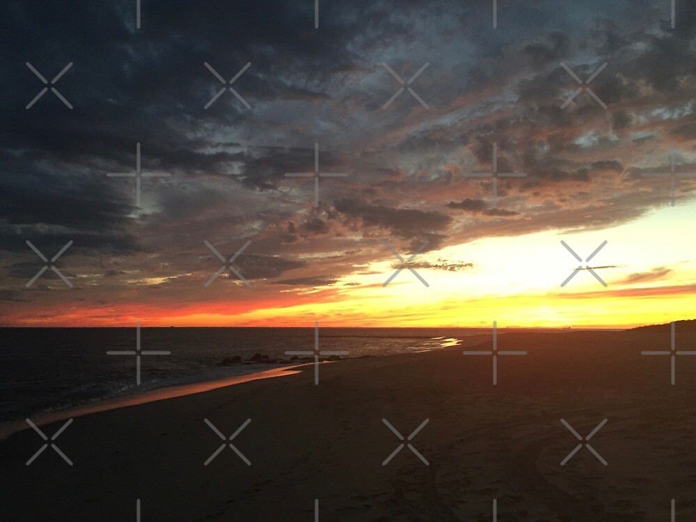 Cape May Point Sunset V by ANNAKUCZYNSKI